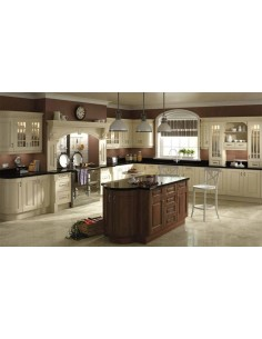 Ivory Prague Kitchen Doors Many Colours Made To Measure