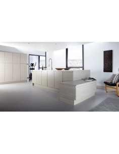 Gallio White Avola Kitchen Doors Handless Range