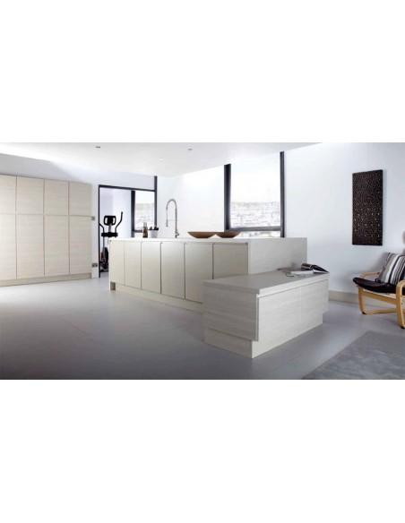 Gallio Dakar & White Avola Kitchen Handleless Doors/Units