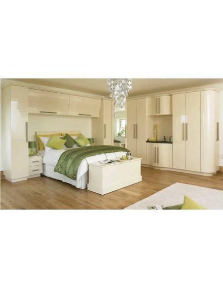 Duleek Cream High Gloss Bedroom Doors/Units