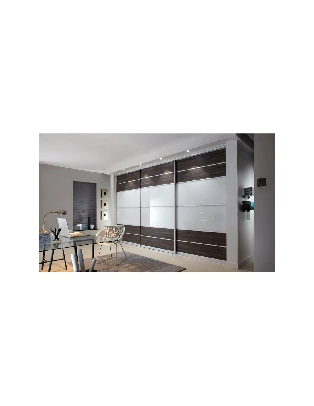 Sliding Bedroom Doors White Avola & Stone Grey Made to Measure ...