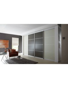 Volante Sliding Bedroom Doors Storage Solutions Lava Mussel