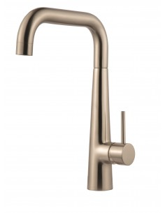 Porrima Brushed Nickel U Spout Kitchen Tap