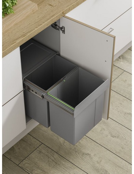Bin 35 waste bin hinged doors