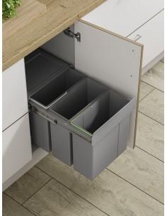 Bin11 hinged door kitchen waste bin