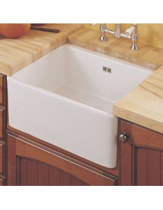 Traditional Belfast Kitchen Sink 600mm White Ceramic Gloss