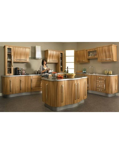 Duleek Light Tiepolo Woodgrain Modern Kitchen Doors/Units