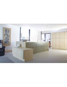 Brentford Olive & Mussel Contemporary Doors/Units Made to Measure Range