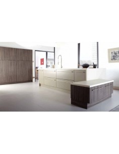 Galaxy Stone Grey & Brown Grey Avola Contemporary Doors/Units