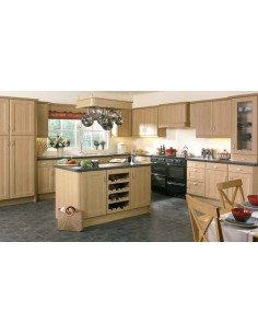 Brisbane Lissa Oak Shaker Style Kitchen Doors