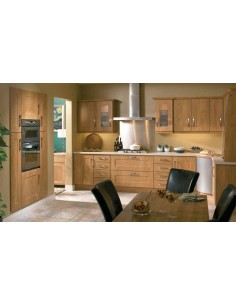 Houston Pippy Oak Shaker Style Kitchen Doors/Units