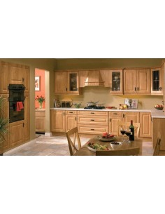 Calcutta Pippy Oak Shaker Style Kitchen Doors/Units