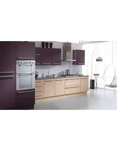 PVC Edged Aubergine & Matfen Chestnut Doors/Units 20+ Colours