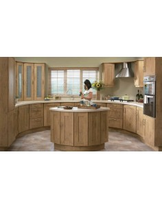 Tuscany Natural Oak Timeless Kitchen Doors/Units - 9 Finishes