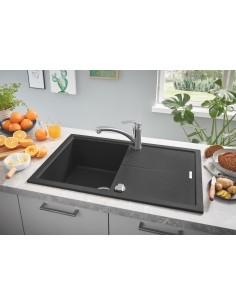 Grohe K400 Black Granite Kitchen Sink