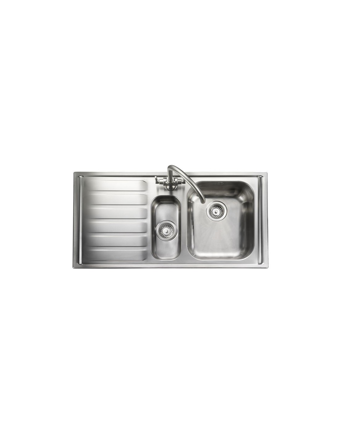 rangemaster mn10101 manhattan stainless steel 101520 sink waste - Kitchen Sink Wastes