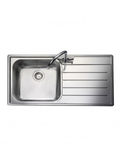 Rangemaster OL9851Oakland Stainless Steel Sink & Waste