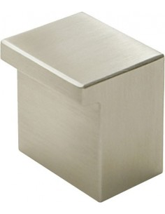 Metropolis Square Knob Stainless Steel Modern Pull Handle