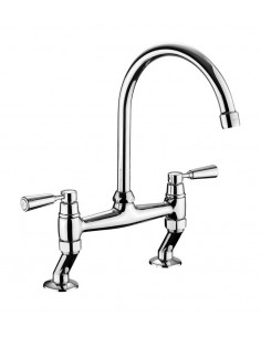 Rangemaster TBL3 Belfast Bridge Kitchen Tap Chrome
