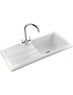 Rangemaster Portland CPL10101 Ceramic Sink 1.0 Bowl