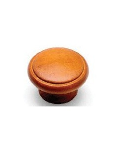 42mm Wooden Knobs 28mm Base Antique Pine