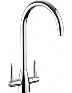Rangemaster Aquavogue 1 Kitchen Tap Chrome-Brushed