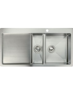 Stainless Steel Square Kitchen Sink & tap Pack
