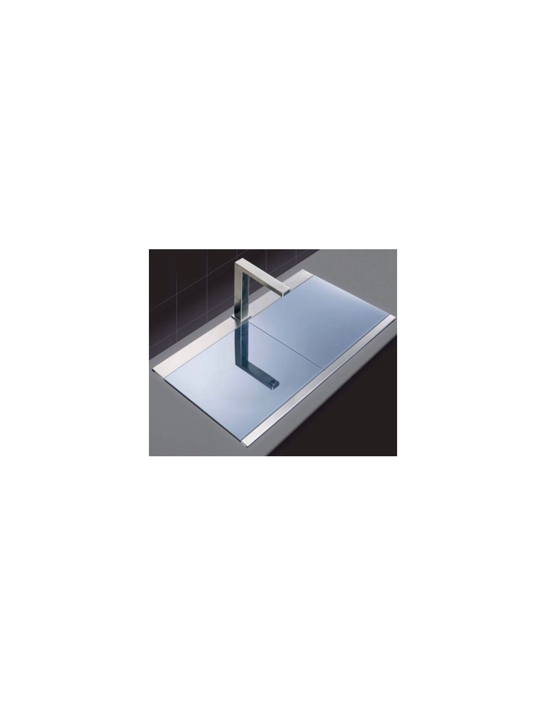 clearwater glacier gla200 bowl kitchen sink glass