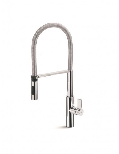 Newform Pura Single Lever Mixer Spray Tap Chrome