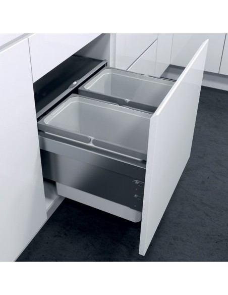Kitchen Waste Basket In Cabinet Assembly