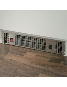 Kitchen Plinth heater 2Kw Fan Operation Stainless Steel