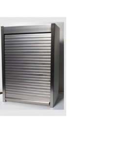 500mm Tambour Door Kits Stainless Steel 1450mm High