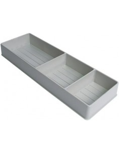Detergent Holder For Under Sink Bases Grey Plastic 450x150mm
