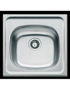 Clearwater E33 Inset Small Single Bowl Kitchen Sink Stainless