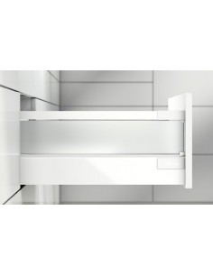 "Blum Antaro ""D"" Height Complete Drawer 500mm Depth Silk White Easy To Order"