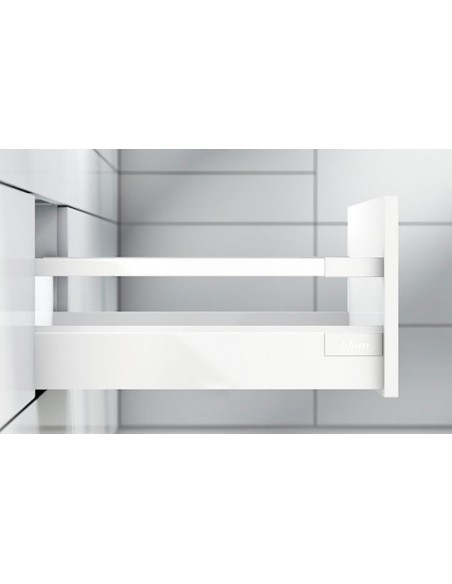 "Blum Antaro ""D"" Height Complete Drawer 500mm Depth Silk White Easy To Order"