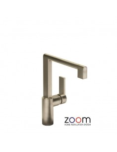ZP1055 Abode Indus Kitchen Tap Single Lever Monobloc Brushed Nickel Finish