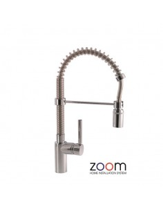 ZP1058 Abode Ratio Professional Spray Kitchen Tap Single Lever Chrome