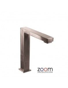 ZP1062 Abode Vixo Progressive Valve Kitchen Tap Monobloc Brushed Nickel Finish