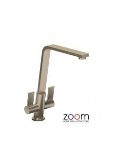 ZP1070 Abode Linear Flair Kitchen Tap Monobloc Brushed Nickel Finish