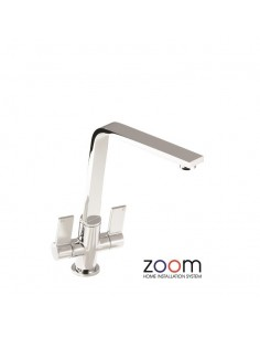 ZP1069 Abode Linear Flair Kitchen Tap Monobloc Chrome Finish