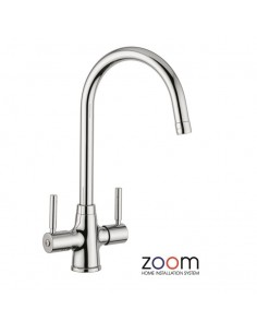 ZP1001 Abode Davenport Kitchen Tap Monobloc Chrome