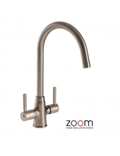 ZP1002 Abode Davenport Kitchen Tap Monobloc Brushed Nickel
