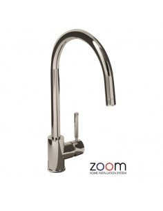 ZP1009 Abode Acten Side Lever Kitchen Tap Monobloc Chrome