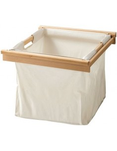 Laundry Bin Bag With Wooden Beech Frame 455mm