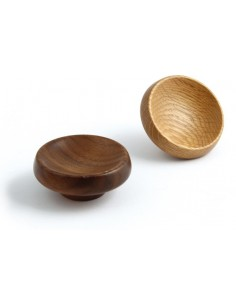 Cadogan Walnut/Oak Wood Knob 67mm Dia Lacquered