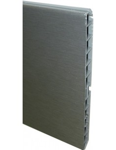 Plinth Panel Stainless Steel Coated PVC 3m