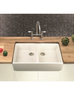 Farmhouse 90 Kitchen Sink, Double Bowl, Villeroy & Boch