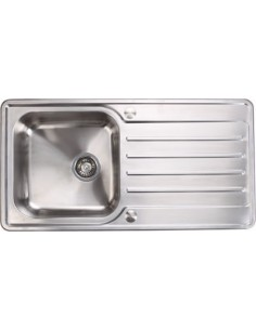 Stainless Steel Kitchen Sink Deep Single Bowl 965x500mm