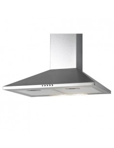 Essentials 60cm Pyramid Extractor Hood Stainless Steel Or Black